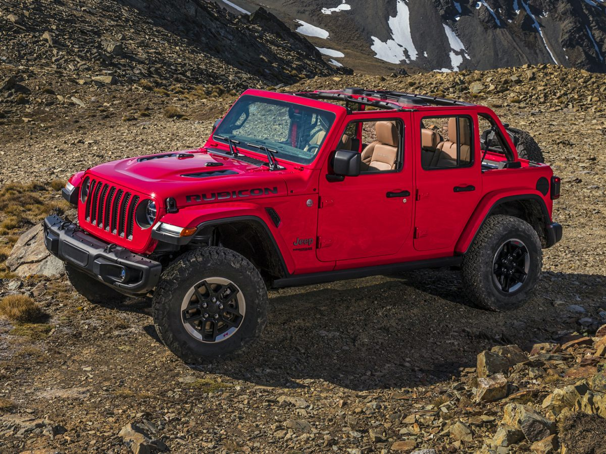 Pre-Owned 2020 Jeep Wrangler Unlimited Rubicon