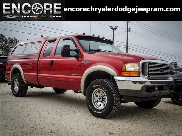 Pre-Owned 2001 Ford F-250SD XLT 7.3L V8 Diesel *Construction Special