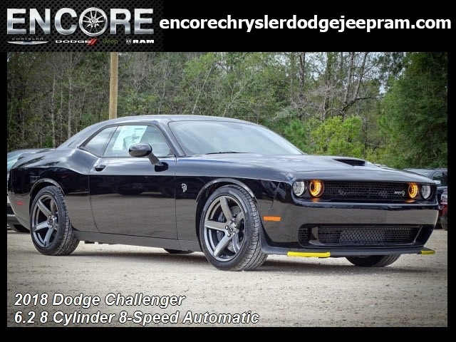 New 2018 Dodge Challenger Srt Hellcat Coupe In Mobile D338943