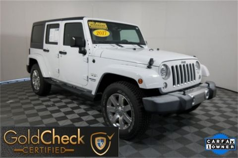 Pre-Owned 2017 Jeep Wrangler Unlimited Sahara