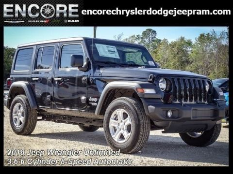 New 2018 JEEP Wrangler Unlimited Sport S