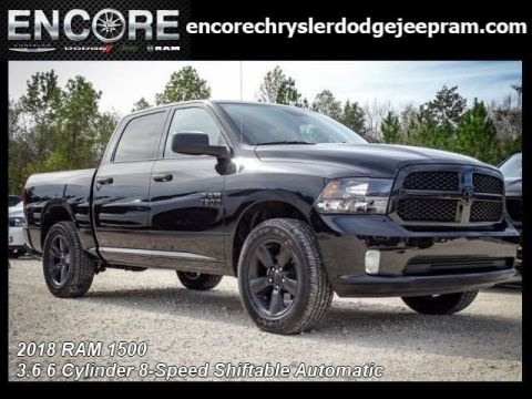 New 2018 RAM 1500 Express Quad Cab in Mobile #R351867